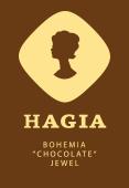"""HAGIA, český """"čokoládový"""" šperk"""